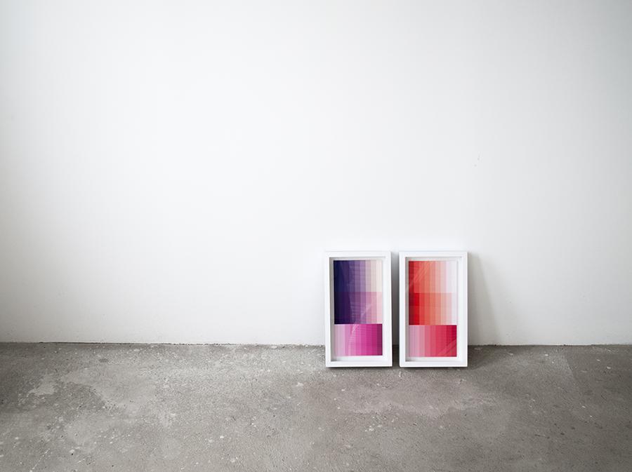 Variaciones de color. Composiciones I y II