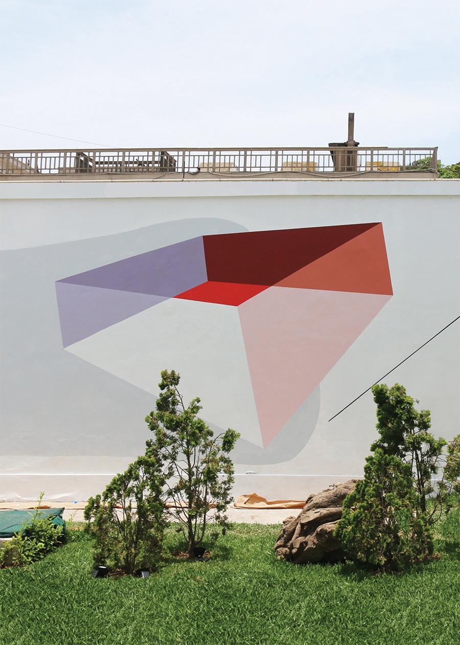 Equilibrio y Gravedad II. Mural